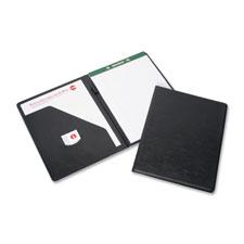 "Writing portfolio,f/ note pad,vinyl, 9""x12"", black, sold as 1 each, 10 each per each"