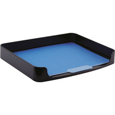 "Side loading tray, legal size, 15-3/8""x10-1/4""x2"", black, sold as 1 each"