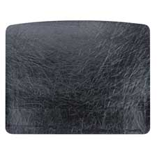 "Desk pad, 19-3/4""x24-3/4"", black, sold as 1 each"