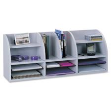 Safco Radius 12-Compartment Desktop Organizers