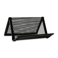 Sparco Steel Mesh Business Card Holders