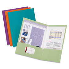 Esselte Metallic Two Pocket Folders