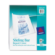 Avery Non-Slip Sliding Bar Report Covers