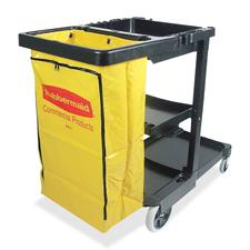 Rubbermaid Janitor Cart w/ Zipper Vinyl Bag