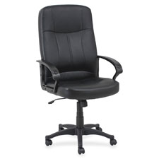 Lorell Chadwick Executive High-Back Leather Chair