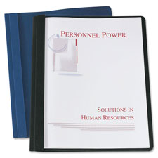 Avery Coated Paper Clear Front Report Covers