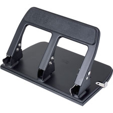Officemate Heavy-Duty Padded Hndl 3-Hole Punch