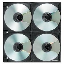 Fellowes CD/DVD Binder Sheets