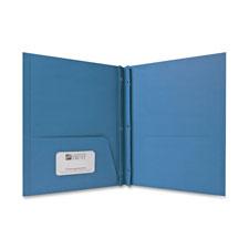 Sparco 2-Pocket Folders w/ Fasteners