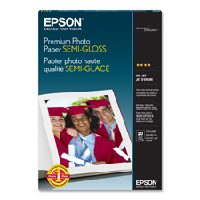 Epson Premium Semi-Gloss Photo Paper
