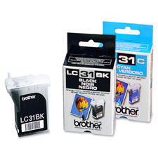 Brother LC31BK/C/M/Y Ink Cartridges