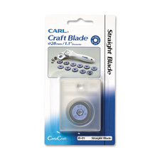 Carl Mfg B-01 Straight Replacement Blade