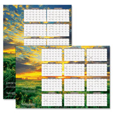 At-A-Glance Horiz./Vert. Erasable Wall Calendar