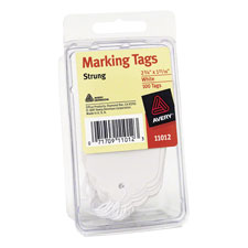 Avery Medium Weight Stock Marking Tags w/ String