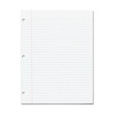 Rediform White Ruled Standard Filler Paper