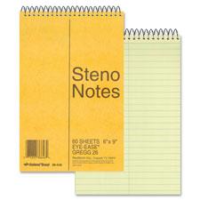 Rediform Wirebound Steno Notebook