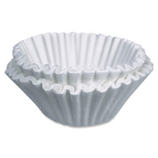 "Coffee filters, 2-3/4""x3"", 100/pk, white, sold as 1 package"