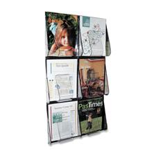 Deflect-O Stand-Tall Wall Literature Rack