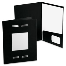 Esselte LaserView Imperial Bus Single Pkt Folders