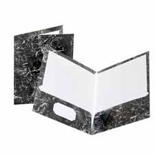 Esselte Oxford Marble Laminated Twin Pkt Folders