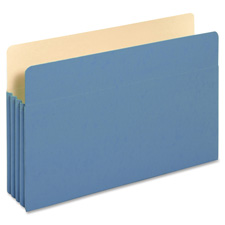 Globe Weis Colored Expansion File Folders