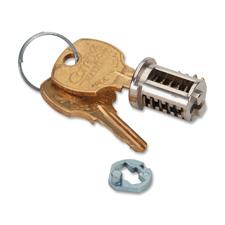 Hon Chrome Removable Lock Kit