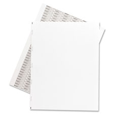 "Transcription labels,unruled,1/sht,8-1/2""x11"",1000/bx,white, sold as 1 box, 100 each per box"