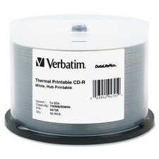 Verbatim DataLife Plus White Thermal CD-R