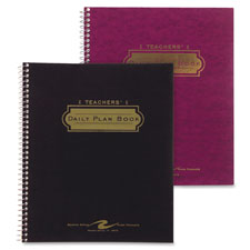 "Teacher planner,40-week,double pocket,11""x8-1/2"",assorted, sold as 1 each"