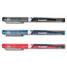 Rollerball pen, .5mm, micro point, 12/pk, black ink, sold as 1 dozen, 4 each per dozen