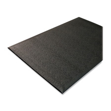 Anti-fatigue floor mat, thick vinyl, 3'x5', black, sold as 1 each
