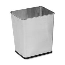 Rubbermaid Stainless Steel Wastebasket