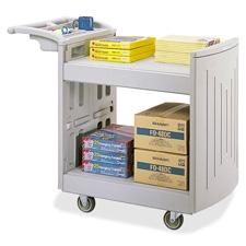 Safco Two Shelf Utility Cart