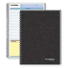 Mead Cambridge QuickNotes 1-Sub. Bus. Notebook