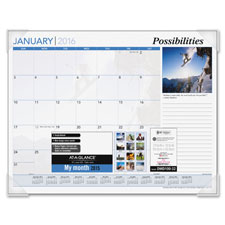 At-A-Glance Inspirational Monthly Desk Pad