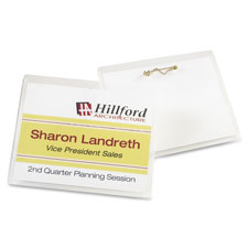 Avery Laser/Inkjet Pin Style Name Badge Kits