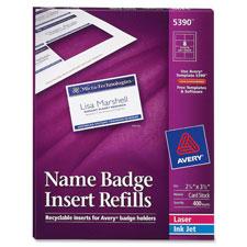 Avery Laser/Inkjet Badge Refills
