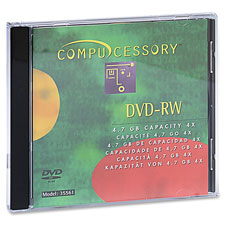 Compucessory Branded DVD-RW Disc