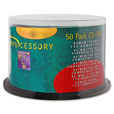 Cd-rw,branded surface,700mb/80 minute cap,12x speed,50/pk, sold as 1 package, 100 each per package