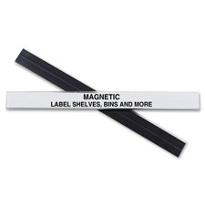 "Label holder,magnetic,f/ shelf/bin,1""x6"",10/bx, clear, sold as 1 box, 10 each per box"