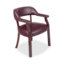 "Captain chair, wrap around back, 26""x24""x30-3/4"", burgundy, sold as 1 each, 4 each per each"