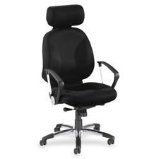 Lorell Executive Airseat Fabric Swivel Chair