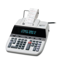 Canon 12-Digit 2-Color Display Printing Calculator