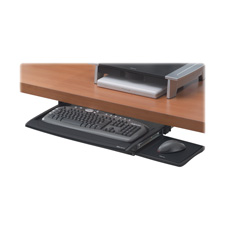 Fellowes Deluxe Keyboard Drawer w/Wrist Support