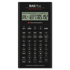 Texas Inst. BAII Plus Professional Calculator