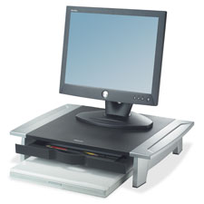 Fellowes 2 Height Adjustable Monitor Riser