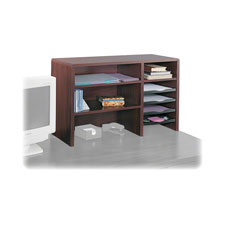 Safco High Clearance 29 Wood Desktop Organizers