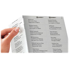Avery Clear Mailing Labels