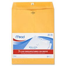 Mead Heavyweight Brown Kraft Clasp Envelopes