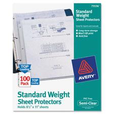 Avery Non-Stick Sheet Protectors
